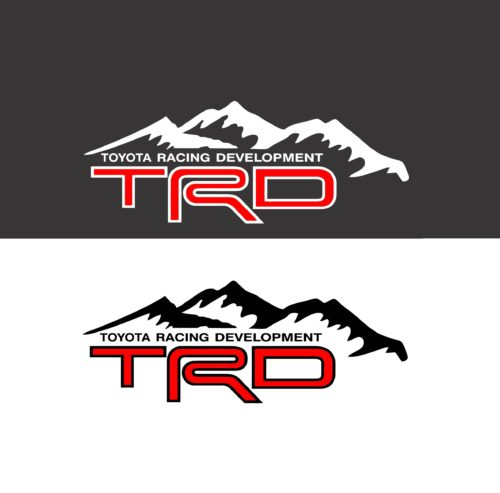 Toyota TRD Mountains Bedside Graphic