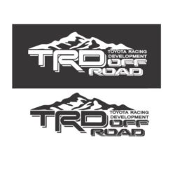 Toyota TRD Mountains Decal Sticker Set A2