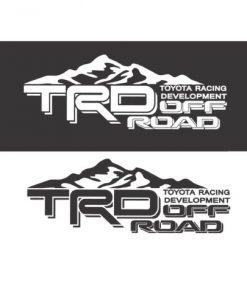 Toyota TRD Mountains Decal Sticker Set A2