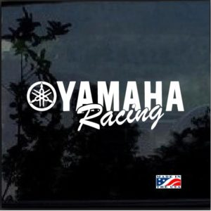 Yamaha Racing Decal Sticker