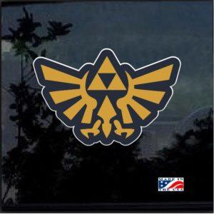Zelda Triforce Full Color Decal Sticker