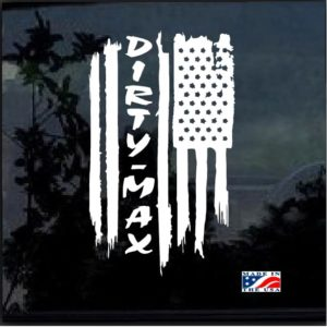 duramax Dirty Max weathered flag a3