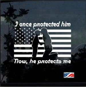 once protected him decal sticker