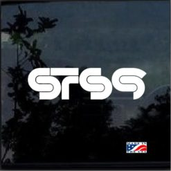 STS9 Sound Tribe Sector Band Window Decal Sticker