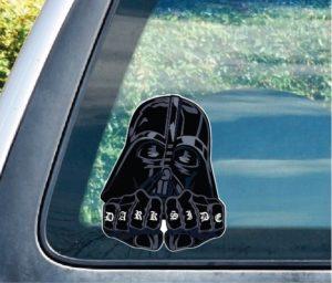 Darth Vader Dark Side Window Decal Sticker