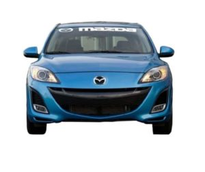 Mazda Windshield Banner Decal Sticker III