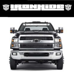 Ironhide Transformer Windshield Banner Decal Sticker Chevrolet