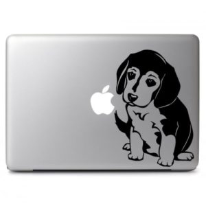 Laptop Stickers - Beagle Puppy Dog - Decal