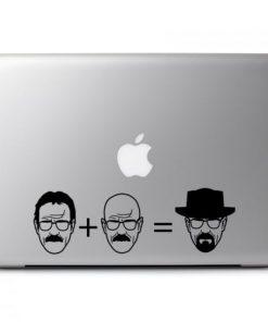 Laptop Stickers - Breaking Bad Heisenberg - Decal
