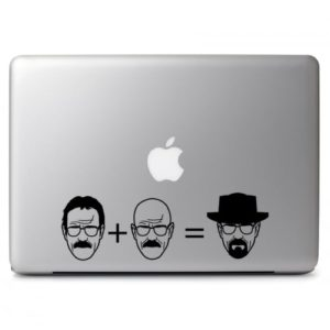 Laptop Stickers - Breaking Bad Heisenberg - Decal