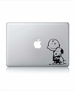 Laptop Stickers - Charlie Brown and Snoopy - Decal