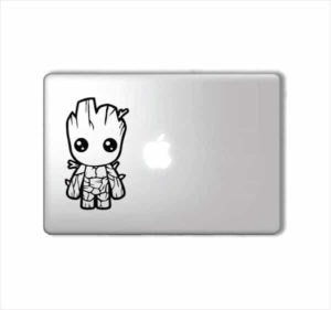 Laptop Stickers - Groot Guardian Galaxy - Decal