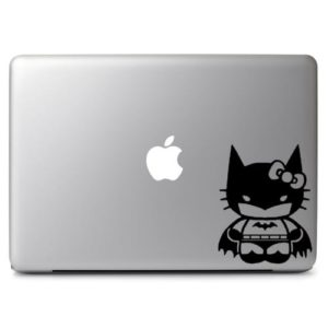 Laptop Stickers - Hello Kitty Batman - Decal