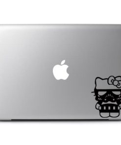 Laptop Stickers - Hello Kitty Storm trooper - Decal
