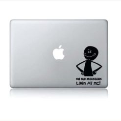 Laptop Stickers - I'm Mr Meeseeks Look at me - Decal