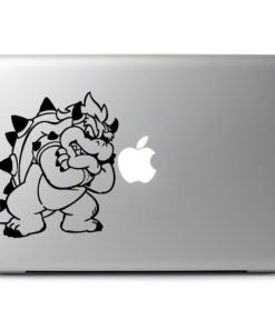 Laptop Stickers - Mario Bothers Bowser - Decal