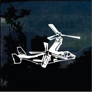Military Decals - Osprey Helicopter Sticker