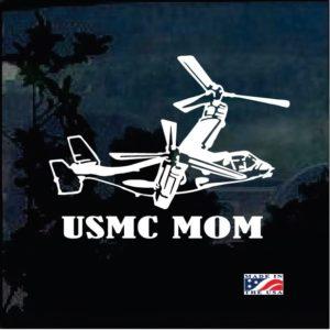 USMC Marine Mom Osprey Decal Sticker