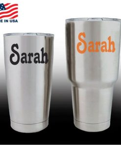 Yeti Decals - Cup Stickers - Custom Name