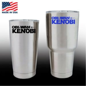Yeti Decals - Cup Stickers - Obi Wan Kenobi