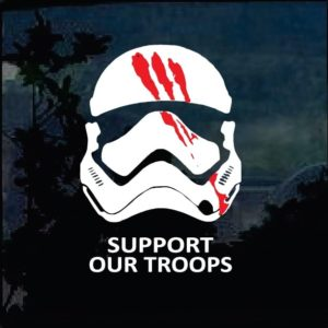 storm Trooper Support our troops bloody