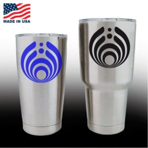 yeti decals - cup stickers - Bassnectar