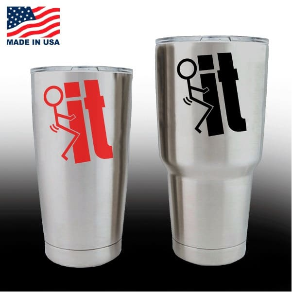 Yeti Decals Cup Stickers It Stick Man