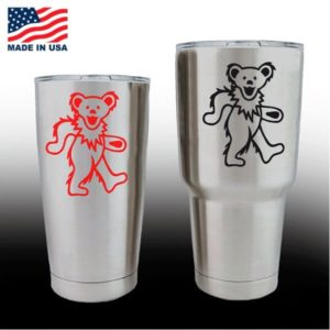 yeti decals - cup stickers - Grateful Dead Dancing Bear