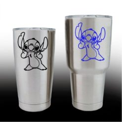 yeti decals - cup stickers - Lilo Stitch