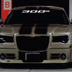 Windshield Banner - Chrysler 300 S Decal Sticker