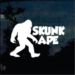 Bigfoot stickers - Skunk Ape Decal