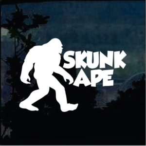 Bigfoot stickers - Skunk Ape Decal