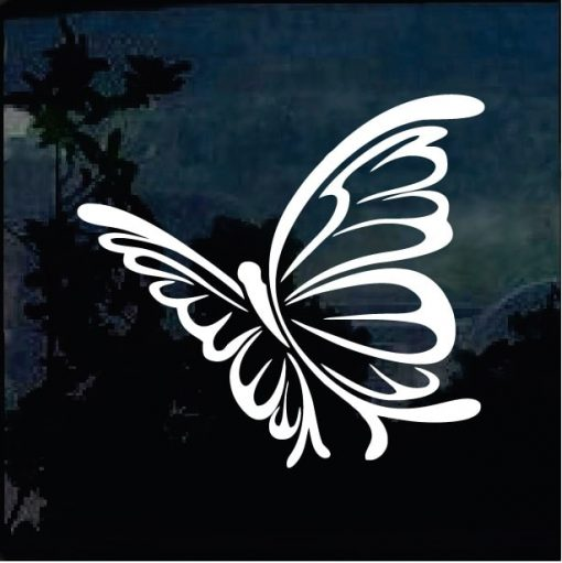 Butterfly Stickers - Butterfly 4 Decal