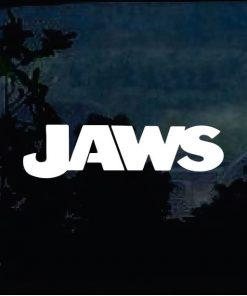 Car Decals - Jaws Shark Sticker