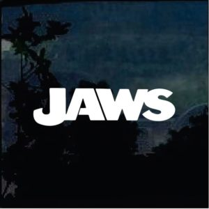 Car Decals - Jaws Shark Sticker