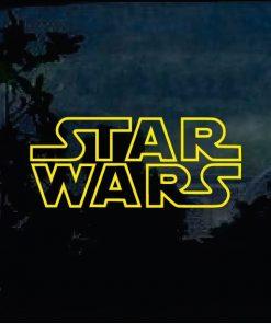 Car Decals - Star Wars Sticker a2