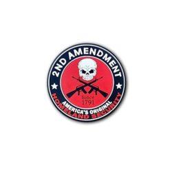 Hard hat stickers - 2nd amendment security