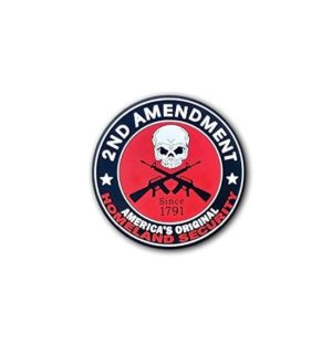 Hard hat stickers - 2nd amendment security