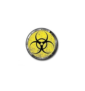 Hard hat stickers - Bio Hazard