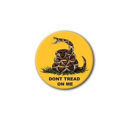 Hard hat stickers - Dont Tread on Me
