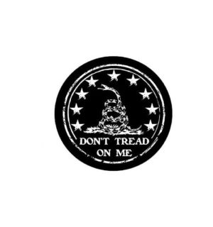 Hard hat stickers - Dont Tread on Me ii