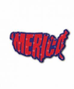 Hard hat stickers - Merica