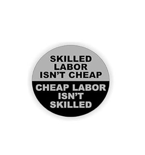 Hard hat stickers - Skilled Labor