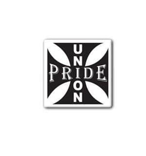 Hard hat stickers - Union Pride