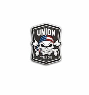 Hard hat stickers - Union till I Die
