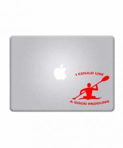 Laptop Stickers - Kayak Good Paddling - Decal