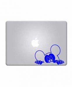 Laptop Stickers - Mickey Mouse peeking - Decal