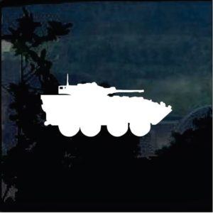 Military Decals – Tank Silhouette a1