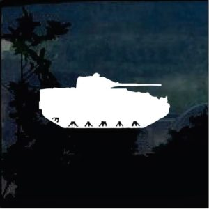 Military Decals – Tank Silhouette a2