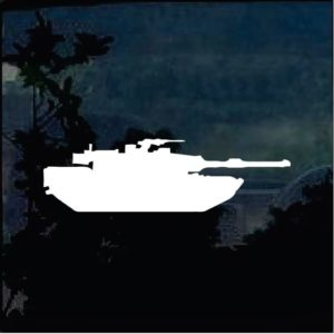 Military Decals – Tank Silhouette a3